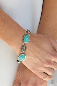 COMING SOON - Paparazzi Cactus Country - Turquoise Bracelet