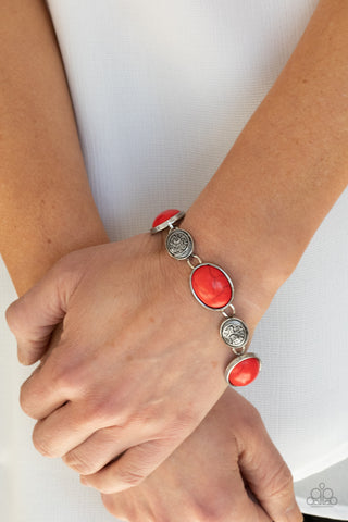 COMING SOON - Paparazzi Cactus Country - Red Bracelet