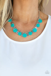 COMING SOON - Paparazzi Flower Powered - Blue Necklace
