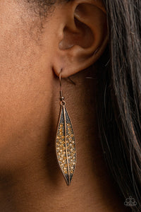 COMING SOON - Paparazzi Hearty Harvest - Copper Earrings