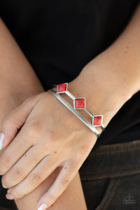 COMING SOON - Paparazzi Adobe Ascension - Red Bracelet