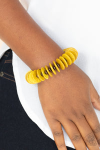 COMING SOON - Paparazzi Caribbean Reefs - Yellow Bracelet