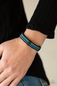 COMING SOON - Paparazzi Forging a Trail - Blue Bracelet