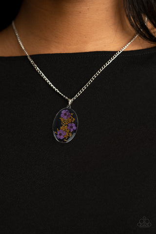 COMING SOON - Paparazzi Prairie Tea Party - Purple Necklace