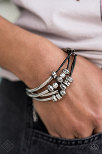 COMING SOON - Paparazzi We Aim To Please - Black Bracelet
