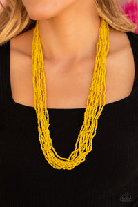 Paparazzi Congo Colada - Yellow Necklace