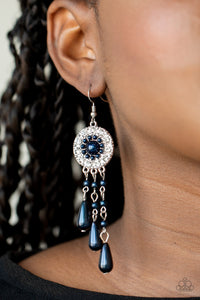 Paparazzi Dreams Can Come True - Blue Earrings