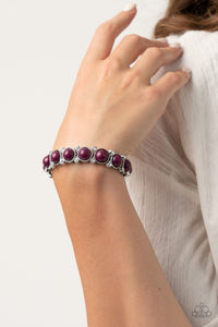 Paparazzi Flamboyantly Fruity - Purple Bracelet