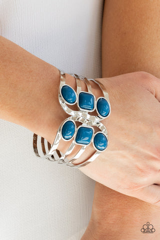 Paparazzi Mystified Blue Bracelet