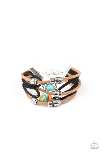 Paparazzi Rocky Mountain Rebel - Multi Bracelet