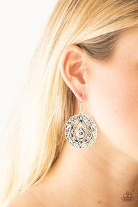 Paparazzi Choose To Sparkle - Green Earrings