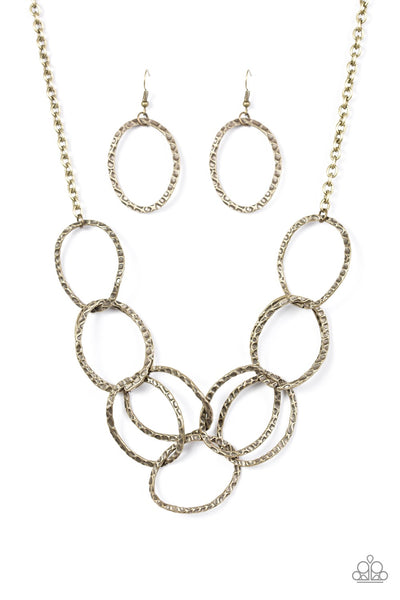 Paparazzi Circus Royale - Brass Necklace