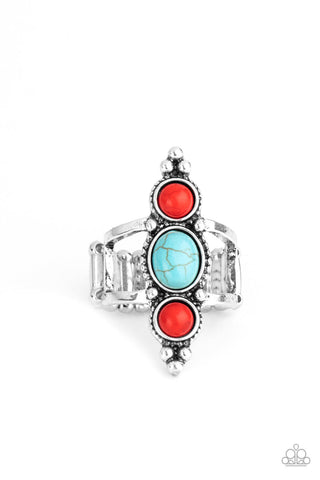 Paparazzi Sahara Sage - Red Ring