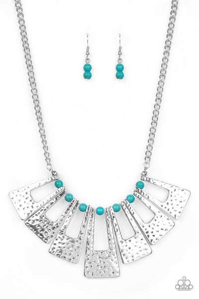 Paparazzi Terra Takeover - Blue Necklace