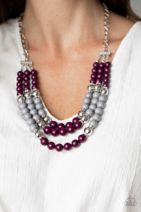 Paparazzi BEAD Your Own Drum Purple Necklace