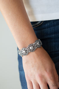 Paparazzi Rural Fields Silver Bracelet