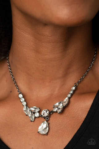 Paparazzi Unrivaled Sparkle Black Necklace