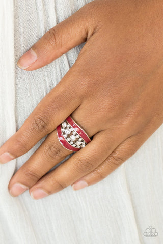 Paparazzi Trending Treasure - Red Ring