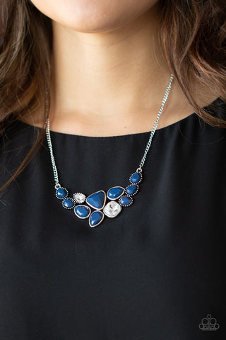 Paparazzi Breathtaking Brilliance - Blue Necklace