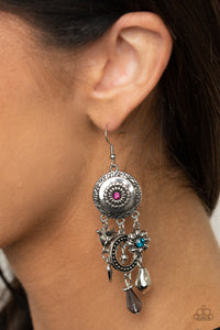 Paparazzi Springtime Essence Multi Earrings