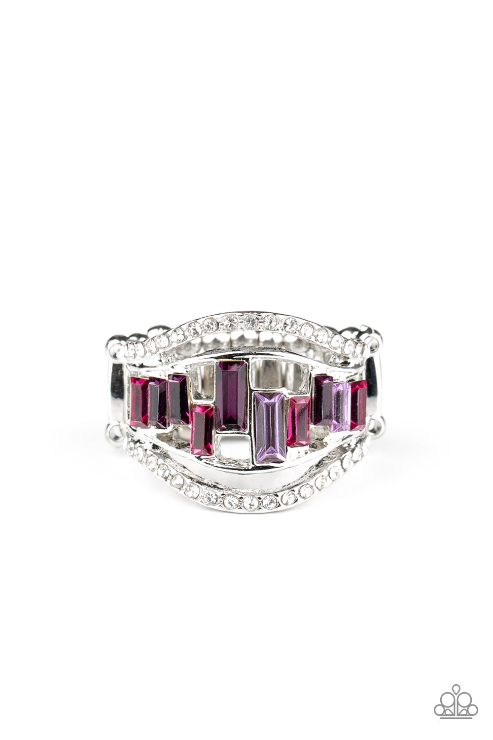 Paparazzi Treasure Chest Charm - Purple Ring