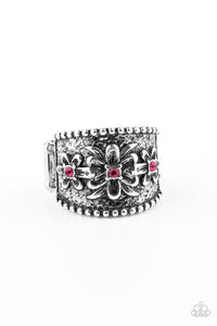Paparazzi Tropical Nights Pink Ring