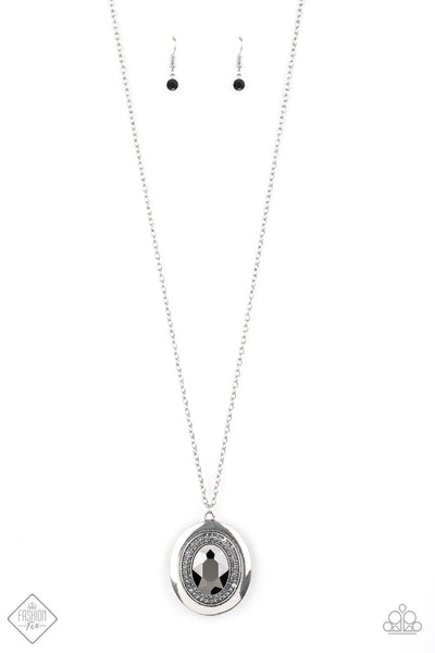Paparazzi Castle Couture Silver Necklace