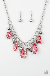 Paparazzi Chroma Drama Red Necklace