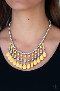 Paparazzi Rural Revival - Yellow Necklace