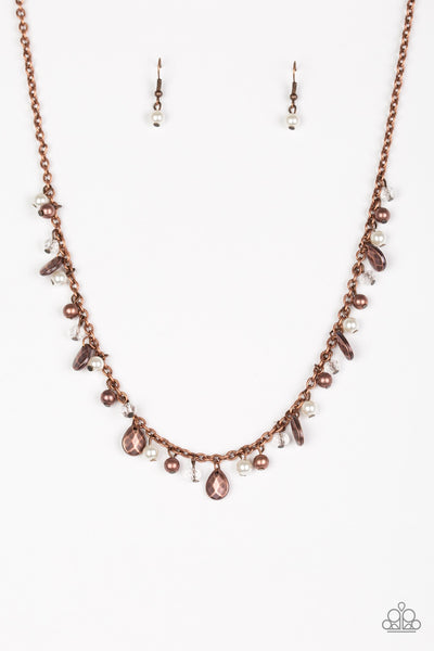 Paparazzi Spring Sophistication - Copper Necklace