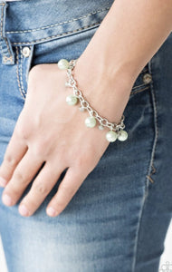Paparazzi Country Club Chic - Green Bracelet