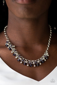 Paparazzi Trust Fund Baby - Purple Necklace