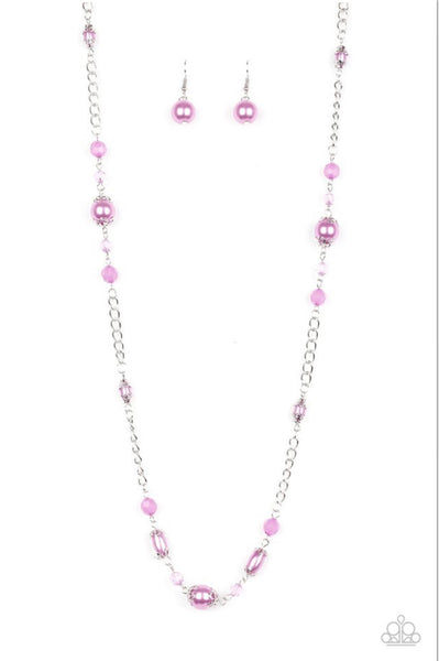 Paparazzi Magnificently Milan - Purple Necklace