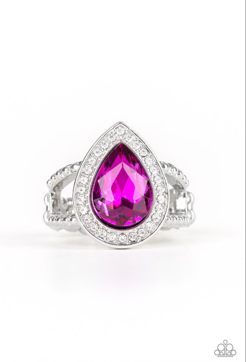 Paparazzi Hollywood Heirloom - Pink Ring