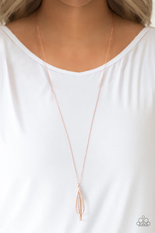 Paparazzi Step Into the Spotlight - Copper Necklace