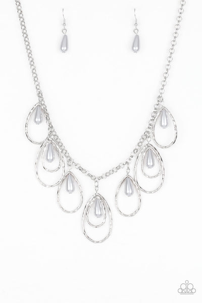 Paparazzi Rustic Ritz - Silver Necklace