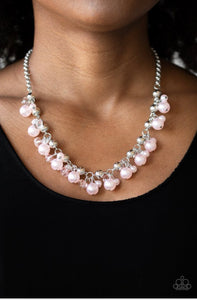 Paparazzi Duchess Royale - Pink Necklace