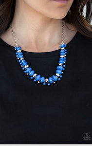 Paparazzi BRAGs To Riches - Blue Necklace