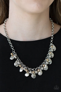 Paparazzi Stage Stunner - Silver Necklace