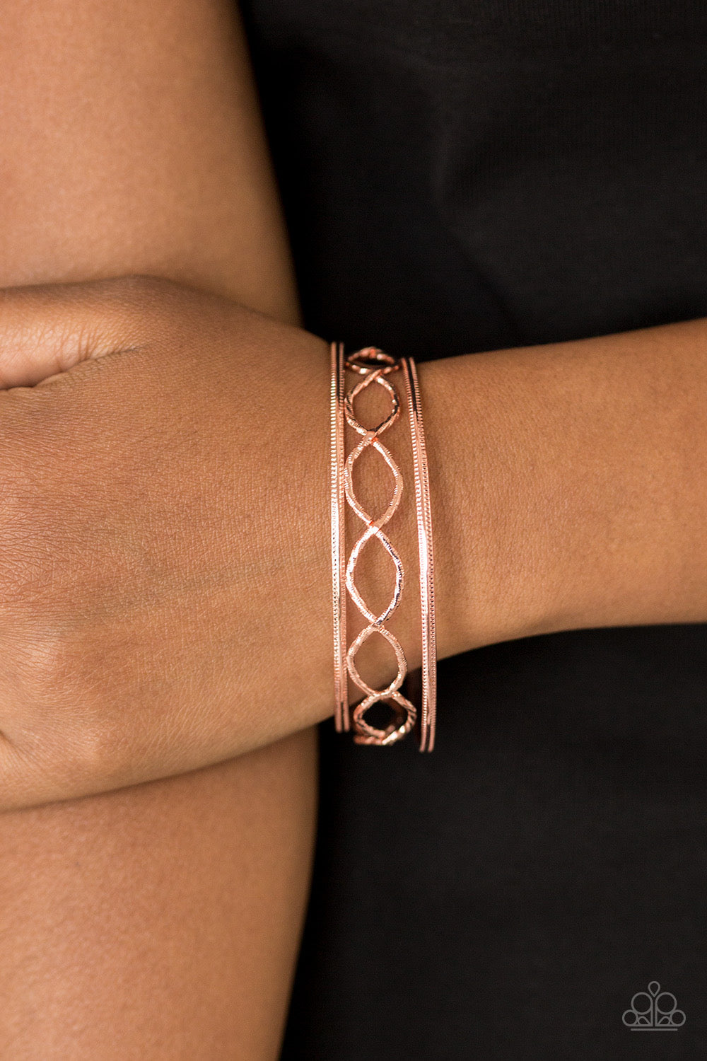 Paparazzi Metal Manic - Copper Bracelet