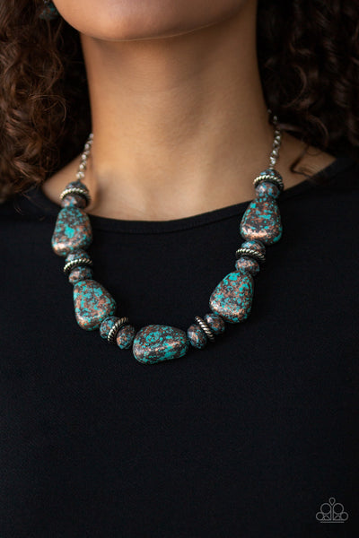 Paparazzi Prehistoric Fashionista - Multi Necklace