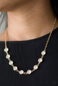 Paparazzi Starlit Socials Gold Necklace