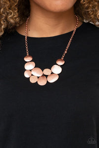 Paparazzi A Hard LUXE Story Copper Necklace