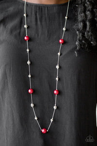 Paparazzi Eloquently Eloquent Red Necklace