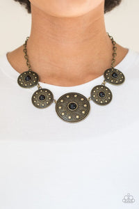 Paparazzi Hey, SOL Sister Black Necklace