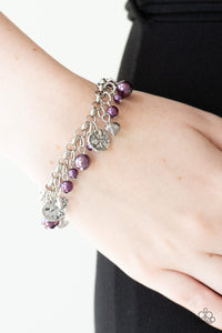 Paparazzi West Coast Wanderer Purple Bracelet