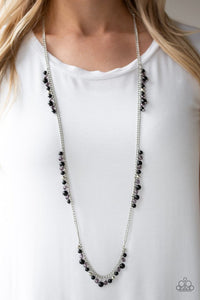 Paparazzi Miami Mojito Black Necklace