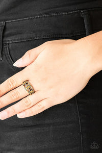 Paparazzi Noble Nova Brass Ring