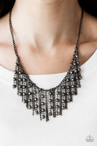 Paparazzi Rebel Remix Black Necklace