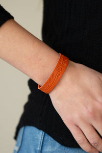 Paparazzi Rural Equinox Orange Bracelet